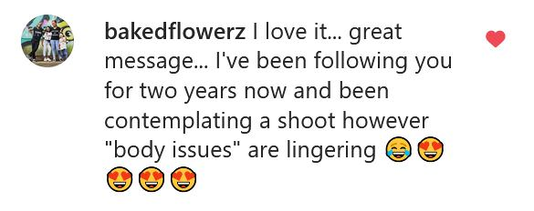 Instagram comments Boudoir Photography