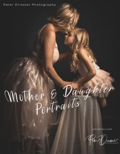 Mother and Daughter photography prices